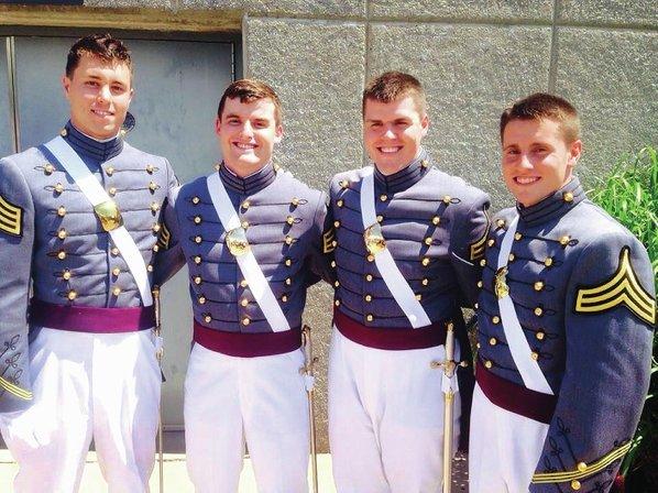 four bentonville men graduate from u s  military academy