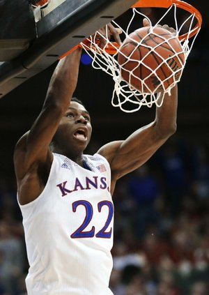 Kansas guard Andrew Wiggins said his selection as the top player in the NBA Draft was a dream come true. He also was the second player from Canada to be the top choice.