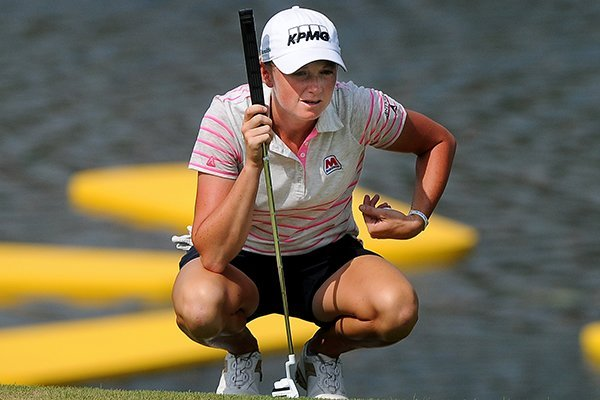 Top LPGA professional Stacy Lewis highlights women's individual sports.