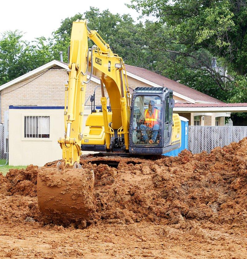 Dirt Work Under Way