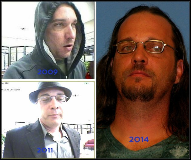 at-right-richard-swicegood-is-shown-in-a-saline-county-booking-mug-at-left-are-surveillance-photos-from-robberies-of-a-benton-bank-in-2009-and-2011