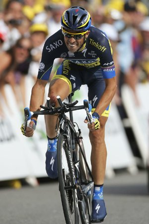 2009 Tour de France winner Alberto Contador, who lost the 2010 title in a doping case, has been in strong form during pre-Tour events.