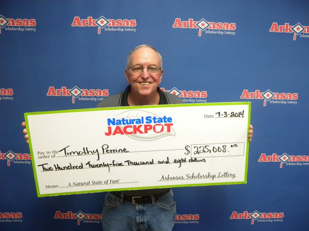 timothy-perrine-of-hot-springs-won-225000-after-matching-five-numbers-in-the-natural-state-jackpot-on-monday-night-his-winning-ticket-was-purchased-at-the-discount-tobacco-store-on-albert-pike-in-hot-springs-the-arkansas-scholarship-lottery-said-thursday
