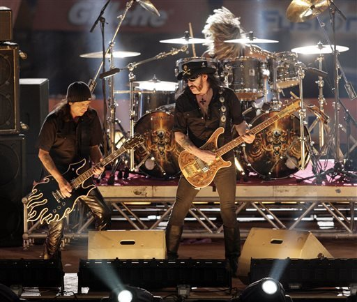 in-this-saturday-oct-7-2006-file-photo-rock-band-motorhead-performs-during-the-show-program-of-the-the-tv-total-stock-car-crash-challenge-2006-celebrities-race-at-the-veltins-arena-in-gelsenkirchen-western-germany-while-its-critics-often-dismiss-heavy-metal-as-the-music-of-the-devil-it-turns-out-the-genre-can-actually-be-hazardous-to-your-health-german-doctors-say-they-treated-a-man-whose-headbanging-habit-ultimately-led-to-a-brain-injury-but-they-say-the-risk-to-fans-is-so-small-they-shouldnt-give-up-their-rhythmic-ways