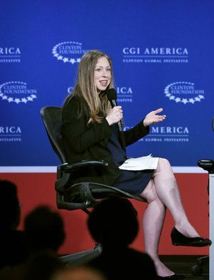 Bill, Hillary and Chelsea Clinton Foundation Vice Chairman Chelsea Clinton has jumped into the family business of speechmaking. The money from her speeches, which are on behalf of the foundation, goes directly to the foundation.