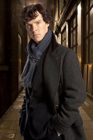 "In this undated file publicity image released by PBS,  Benedict Cumberbatch portrays Sherlock Holmes in ""Sherlock."" Cumberbatch was nominated for an Emmy Award for best actor in a miniseries or movie for ""Sherlock: His Last Vow,"" on Thursday, July 10, 2014. The 66th Primetime Emmy Awards will be presented Aug. 25 at the Nokia Theatre in Los Angeles."