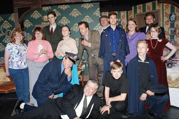 the-cast-and-crew-of-arsenic-and-old-lace-which-will-be-performed-for-three-weekends-by-the-conway-dinner-theater-include-front-row-from-left-bill-meehan-frank-norris-matthew-norris-and-trey-smith-second-row-stage-director-lisha-nation-nancy-allen-rosalyn-moix-jim-guinee-tanner-meyer-director-kimberly-norris-and-sarah-rawlinson-and-third-row-doug-luman-rick-garner-and-devin-sims