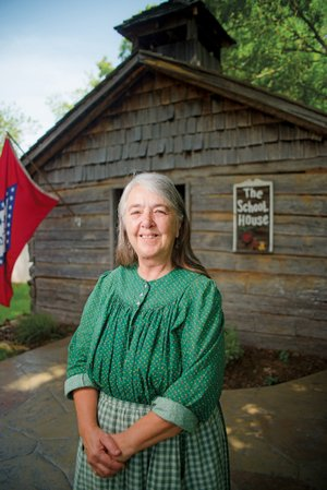 Mary Gillihan has worked as an interpreter at the Ozark Folk Center in Mountain View for 40 years.