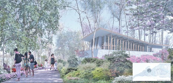 that could accommodate weddings and other social events is one component of plans to expand the botanical garden of the ozarks over the next 15 years - Botanical Garden Of The Ozarks