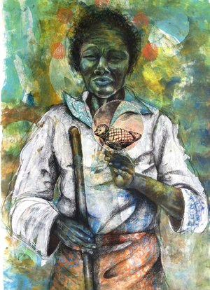 Delita Martin's The Dream Keeper will be part of the exhibit opening Sept. 13 at Crystal Bridges.