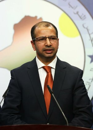 The election of Salim al-Jubouri (shown), a Sunni, as Iraqi speaker of the parliament, demonstrates the country's national unity, Abbas al-Bayati, a Shiite lawmaker, said Tuesday.