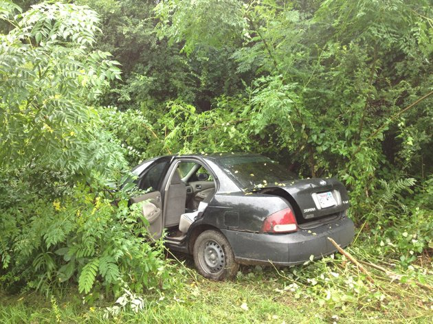 a-man-who-fled-little-rock-police-on-friday-july-18-crashed-his-vehicle-in-in-the-area-of-frazier-pike-and-mt-nebo-street-shortly-before-his-capture