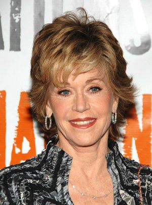 "Actress Jane Fonda poses for pictures at the photocall for her new Broadway show ""33 Variations,"" Thursday, Jan. 29, 2009 in New York. On Saturday, Feb. 21, 2009 the 71-year-old actress was picketed by Vietnam veterans outside the Eugene O'Neill Theater, reminding passers-by that she had once visited their Viet Cong enemy in Hanoi. (AP Photo/Peter Kramer)"
