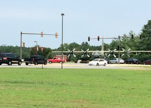 Air Force Base given 'all clear' after lockdown
