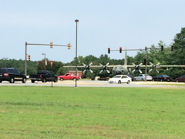traffic-backs-up-wednesday-july-23-2014-around-the-little-rock-air-force-base-in-jacksonville-which-was-put-on-lockdown-because-of-a-suspicious-individual