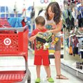 STAFF PHOTO JASON IVESTER Kara Reeves and her son Bennett Reeves, 5, both of Bentonville shop Wednes...