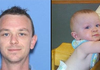 Authorities have located and recovered the bodies of Brian Floyd, 33, (left) and Harper Floyd, 10 months (right), who were reported missing Friday, July 25, 2014, in the Ouachita Mountains near Blue Mountain Lake in Yell County.