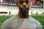 Sophomore LB Baron Browning impressed Coach Bret Bielema during a camp last summer and received an offer from the Hogs.