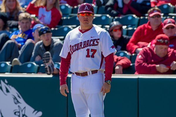 Brad Flanders spent 2014 as the volunteer coach at Arkansas. Flanders was hired Monday as pitching coach at Abilene Christian.