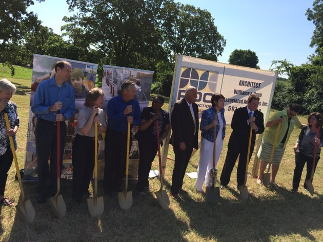 easter seals arkansas officials break ground on harold court on 4r3GA4DU