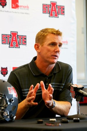 The hiring of Coach Blake Anderson in December continued a trend at Arkansas State of hiring coaches who are known for putting up big numbers on offense, but a defense stocked with experienced players could be the strength of Anderson's first Red Wolves team.