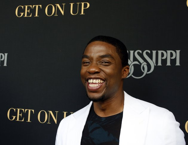 chadwick-boseman-who-stars-as-james-brown-in-get-on-up-a-movie-based-on-the-life-story-of-the-godfather-of-soul-is-interviewed-in-madison-miss-prior-to-a-screening-of-the-film-sunday-july-27-2014-the-film-directed-by-mississippi-native-tate-taylor-depicts-browns-life-from-5-years-old-until-he-was-60-brown-died-in-2006-at-73
