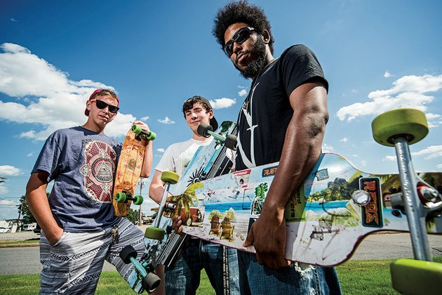 jacob-smith-from-left-matt-musser-and-tevell-winston-are-skateboard-enthusiasts-in-conway-winston-said-he-prefers-longboarding-on-hilly-areas-he-said-skateboarders-need-safer-areas-to-skate-in-conway-and-he-suggested-a-share-the-road-space-such-as-bicyclists-have