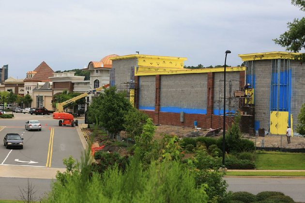 a-homegoods-store-is-under-construction-on-one-of-the-outparcels-at-the-promenade-at-chenal-in-west-little-rock