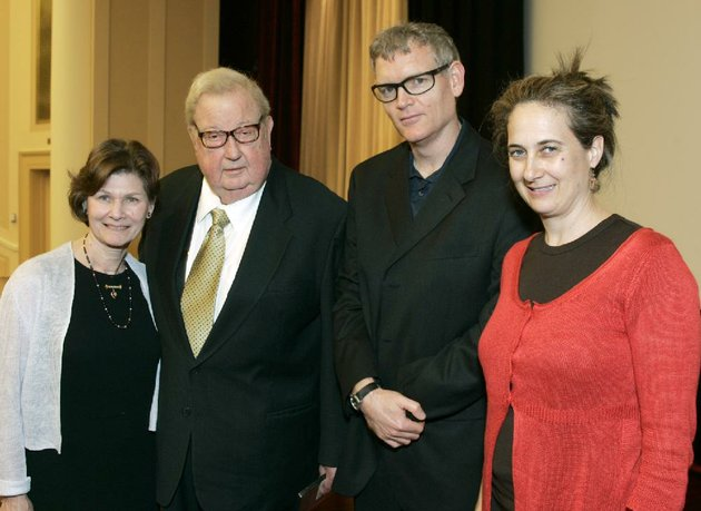 file-in-this-april-27-2007-photo-provided-by-the-academy-of-motion-picture-arts-and-sciences-anne-and-robert-drew-left-join-ed-carter-and-grace-guggenheim-right-during-an-event-honoring-him-at-the-national-archives-in-washington-dc-the-cinema-verite-technique-and-its-pioneer-documentary-filmmaker-robert-drew-were-celebrated-by-the-national-archives-and-records-administration-and-hollywoods-academy-of-motion-picture-arts-and-sciences-drews-eldest-son-thatcher-drew-confirmed-that-the-filmmaker-died-wednesday-morning-july-30-2014-at-his-home-in-sharon-conn-ap-photoneshan-naltchayan-ampas