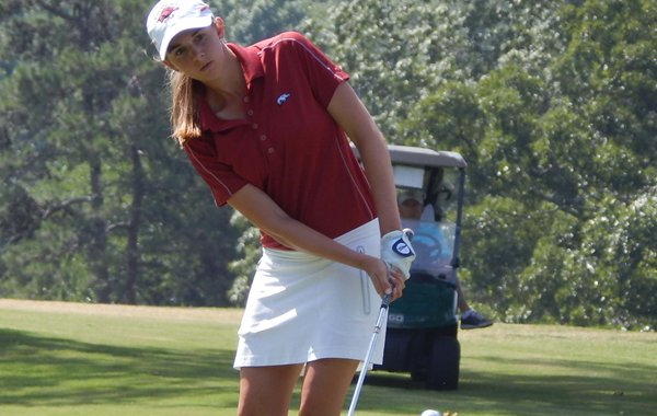 Summar Roachell during the Arkansas Women's Golf Association (AWGA) state match-play championship held June 20, 2014 at Pleasant Valley Country Club in Little Rock.