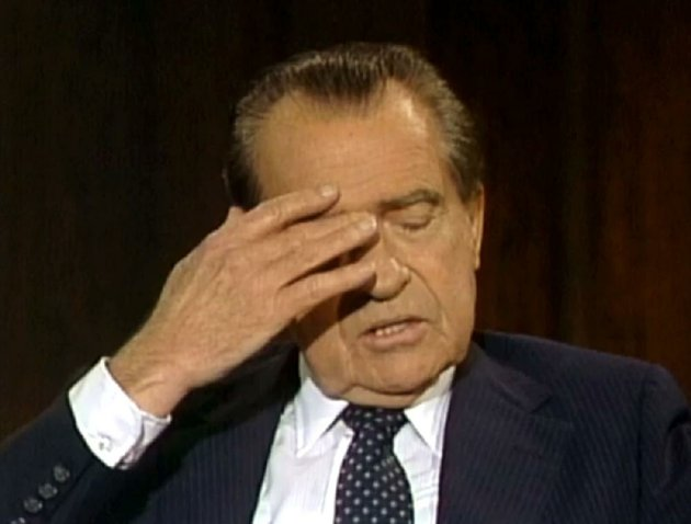 in-this-image-from-video-former-president-richard-nixon-pauses-during-a-june-10-1983-interview-with-former-aide-frank-gannon-in-which-nixon-frankly-discussed-his-downfall