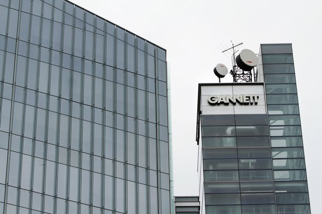 this-july-14-2010-file-photo-shows-gannett-headquarters-in-mclean-va-gannett-is-spinning-off-its-publishing-business-from-its-broadcasting-and-digital-operations-the-company-is-also-acquiring-full-ownership-of-carscom-for-18-billion-the-company-announced-tuesday-aug-5-2014