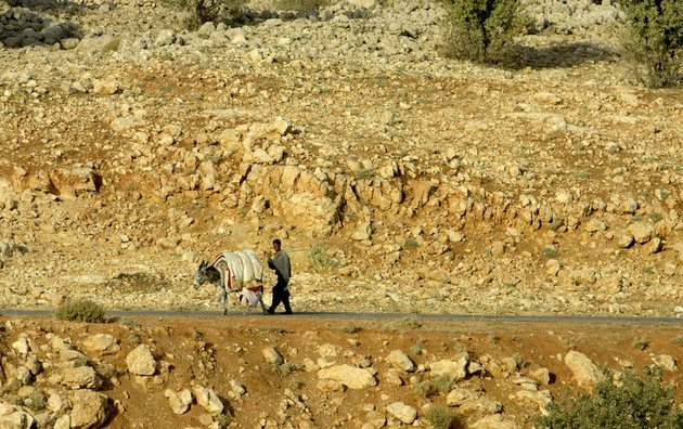 in-this-monday-sept-19-2005-file-photo-a-yazidi-man-an-his-donkey-walk-along-a-road-on-mount-sinjar-250-miles-northwest-of-baghdad-iraq-iraqis-on-friday-aug-8-2014-welcomed-the-us-airlift-of-emergency-aid-to-thousands-of-people-who-fled-to-the-mountains-to-escape-islamic-extremists-and-called-for-greater-intervention-as-us-warplanes-struck-the-militants-for-the-first-time-cargo-planes-dropped-parachuted-crates-of-food-and-water-over-an-area-in-the-mountains-outside-sinjar-where-thousands-of-members-of-the-yazidi-minority-where-sheltering-according-to-witnesses-in-the-militant-held-town-who-asked-not-to-be-identified-for-security-reasons