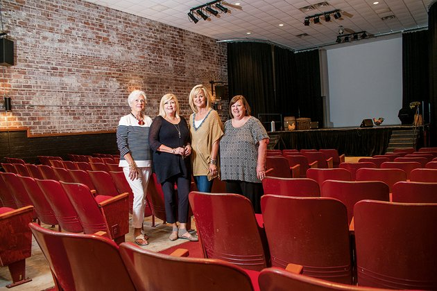members-of-the-ken-theatre-league-inc-board-billie-king-from-left-betty-thompson-lisa-chappell-and-mary-wimpy-are-some-of-the-people-behind-the-effort-to-make-the-theater-into-a-regional-arts-center-with-its-not-for-profit-status-the-ken-theatre-league-will-seek-grants-that-will-enable-it-to-provide-workshops-clinics-and-classes-to-supplement-educational-and-artistic-opportunities-for-youth-in-the-region