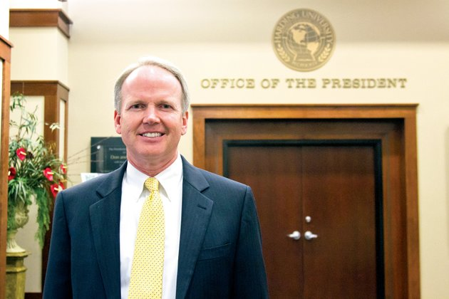 harding-president-bruce-mclarty-said-he-is-excited-about-starting-his-second-school-year-as-president