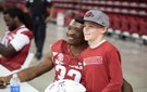 Arkansas Razorbacks Fan Day