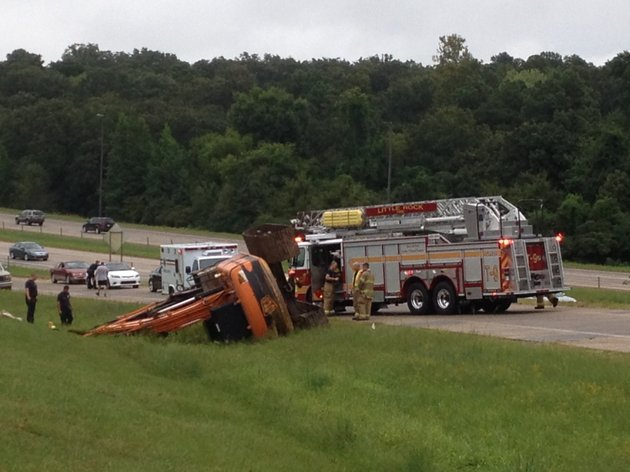 a-flipped-excavator-blocks-to-traffic-the-interstate-430-south-ramp-to-rodney-parham-road-in-little-rock-on-monday-aug-18-2014