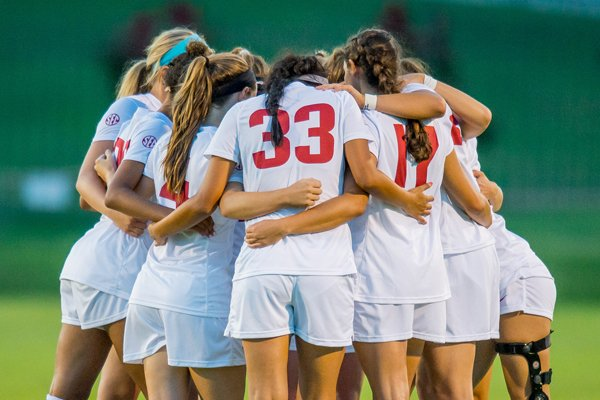 Arkansas soccer is ranked No. 23 in the TopDrawerSoccer.com preseason poll. (photo courtesy Walt Beazley)
