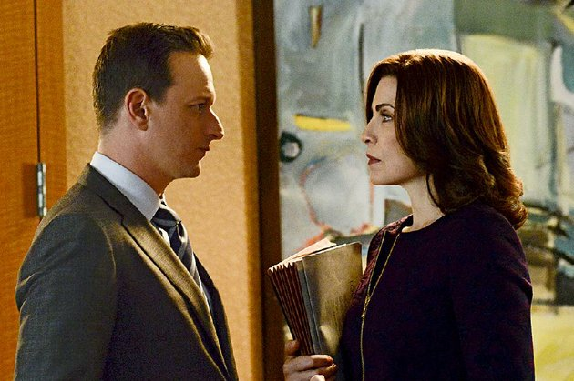 the-good-wife-starring-josh-charles-and-julianna-margulies-is-up-for-five-emmys-on-monday-the-cbs-drama-returns-for-season-6-in-september-but-without-charles-whose-character-was-killed-off-last-season