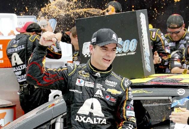 nascar-sprint-cup-leader-jeff-gordon-is-coming-off-a-victory-sunday-in-the-pure-michigan-400-at-michigan-international-speedway