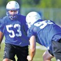 File Photo Jason Ivester Tanner Campbell, left, and Ben Madden will anchor the Rogers High defensive...