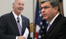 Ross, Hutchinson argue over state budget planning