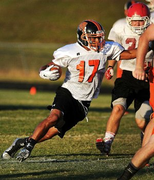Gravette running back Cedric Duarte is expected to get plenty of carries this season after rushing for 11 touchdowns and almost 1,300 yards last season as the Lions finished 3-8.