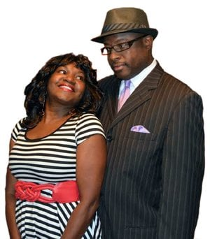 Marion Smith plays Lakisha and Robert Bolden plays her husband, Sonny, in When A Man Loves a Woman.