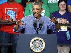 President Obama speaks ...