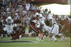 South Carolina running back Mike Davis (28) runs against Texas A&M during the first half of an NCAA college football game on Thursday, Aug. 28, 2014, in Columbia, S.C. Texas A&M won 52-28. (AP Photo/Rainier Ehrhardt)