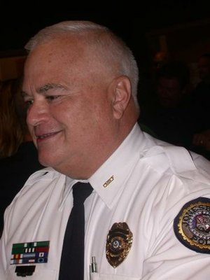 Jonesboro Mayor Harold Perrin named police veteran Lt. Rick Elliott as the city's new police chief Thursday.