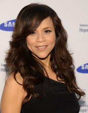 "FILE - In this June 10, 2014 file photo, Rosie Perez arrives at the Samsung Hope for Children Gala 2014 in New York. Perez and Republican media operative Nicolle Wallace are joining ABC's daytime chat show, ""The View,"" for its new season, beginning Sept. 15. (Photo by Evan Agostini/Invision/AP, File)"