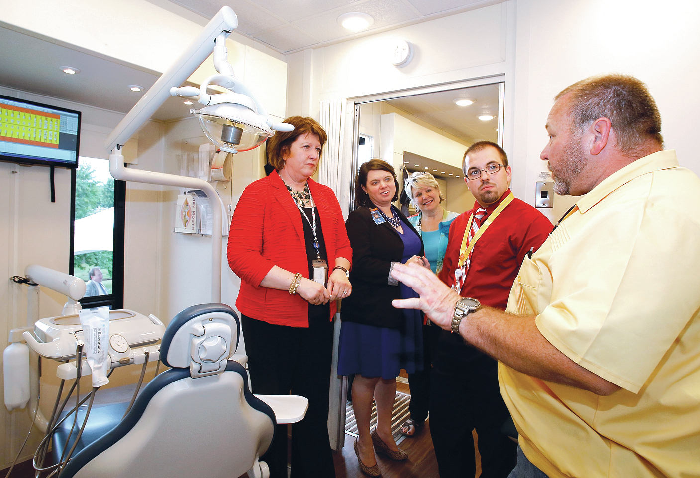 washington regional unveils mobile dental clinic  walmart