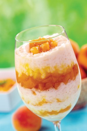 You can vary this recipe with different fruits, such as peaches, and by adding other spices.